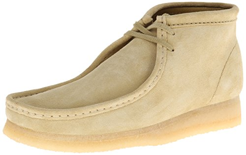 Clarks Tan Suede Wallabee Boots
